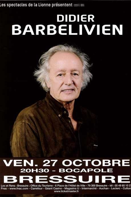 Billetterie spectacle : Didier Barbelivien