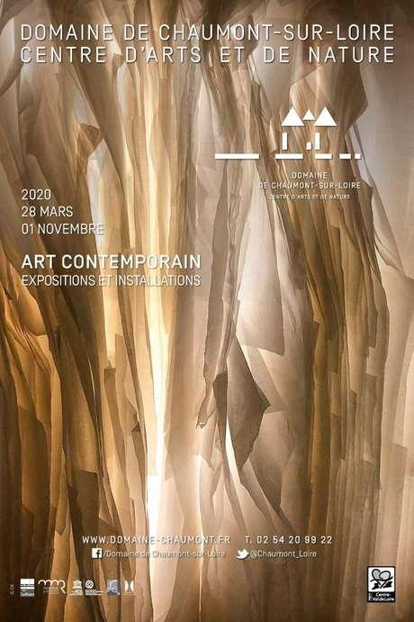 Saison d'art 2020 au Domaine de Chaumont-sur-Loire