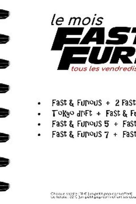 Soirée coup double : Fast & Furious 5 et 6