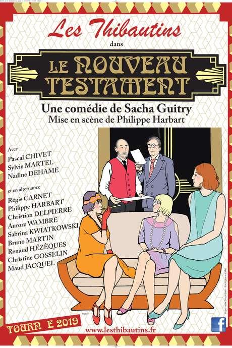 """Théâtre """"Le nouveau testament"""" des Thibautins"""