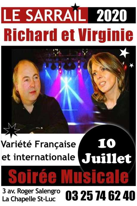 Soirée Richard et Virginie