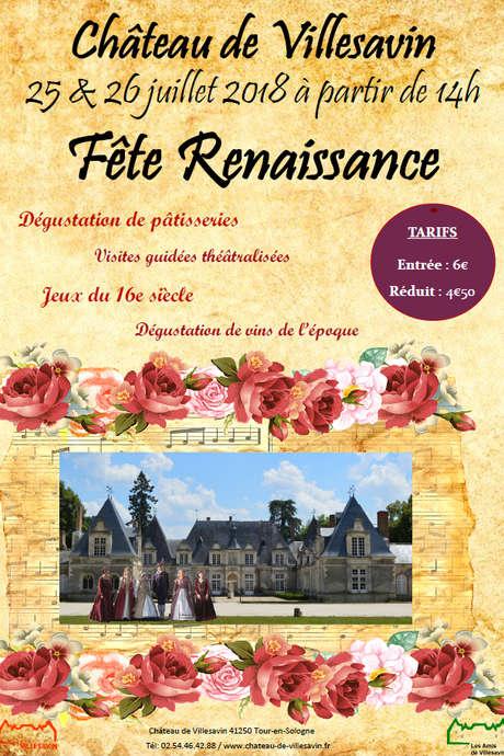 Fête Renaissance au château de Villesavin