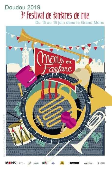 1er Festival International Des Fanfares De Rue : « Mons En Fanfare »