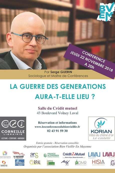 Conférence : La Guerre des générations aura-t-elle lieu ?