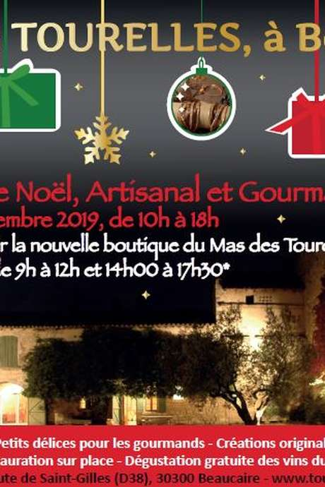 Marché de Noël, Artisanal et Gourmand au Mas des Tourelles