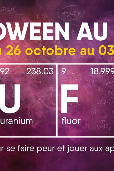 Halloween au labo