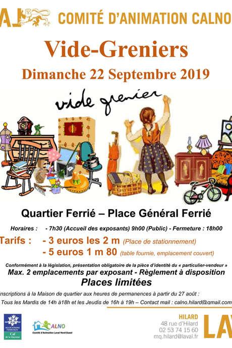 Vide-Greniers // Quartier Ferrié