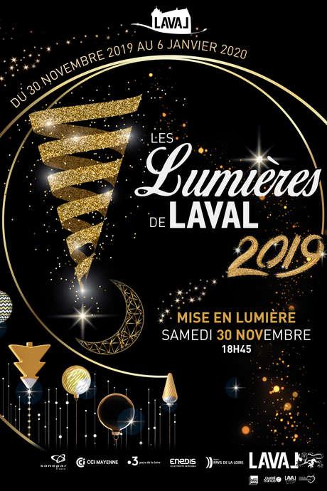 Mise en Lumière de Laval - Les Lumières de Laval 2019