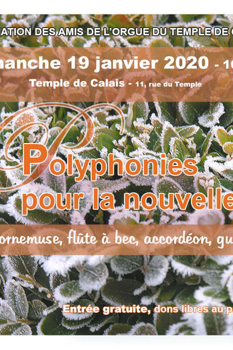 Concert : Polyphonies pour la nouvelle année