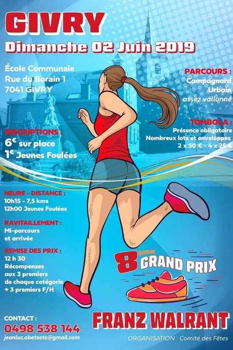 Jogging de Givry - 8e grand prix Franz Walrant