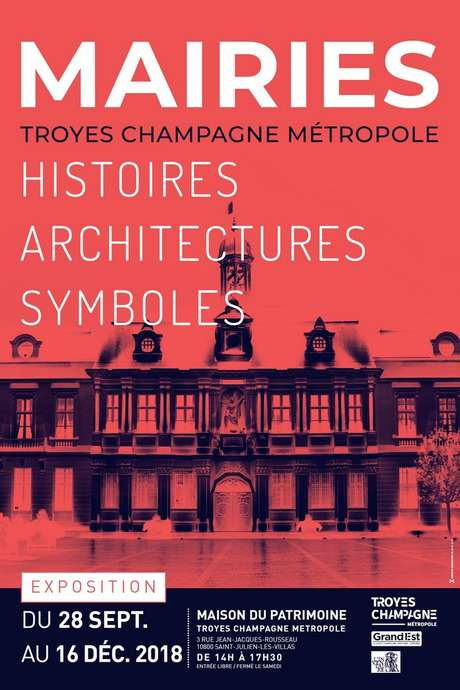 """Visites guidées de l'exposition """"Mairies - Histoires Architectures Symboles"""""""