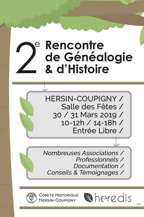 2ème rencontre de Généalogie et d'Histoire