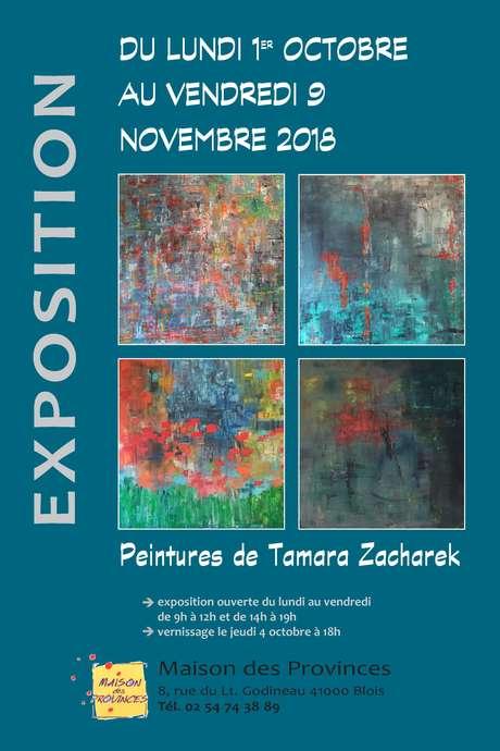 Exposition de Tamara Zacharek