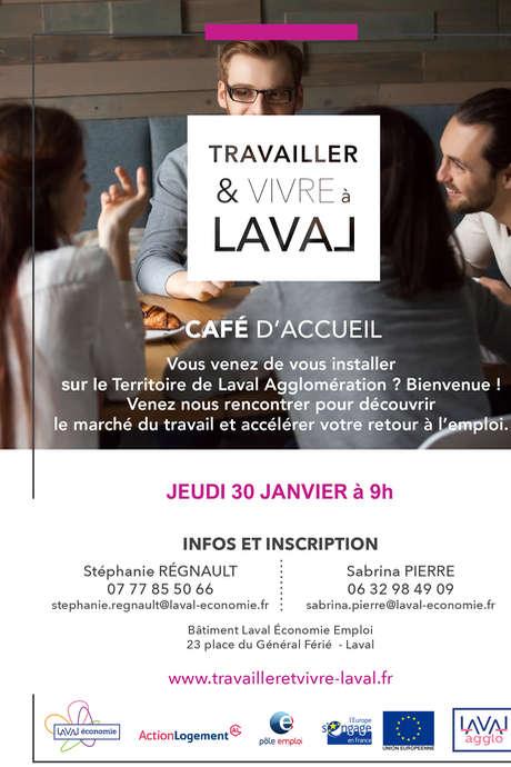 Travailler & Vivre à Laval : Café d'accueil