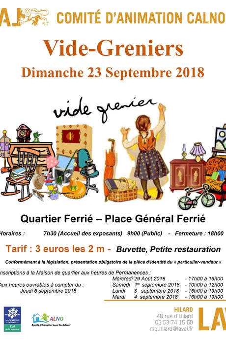 Vide-Greniers Quartier Ferrié