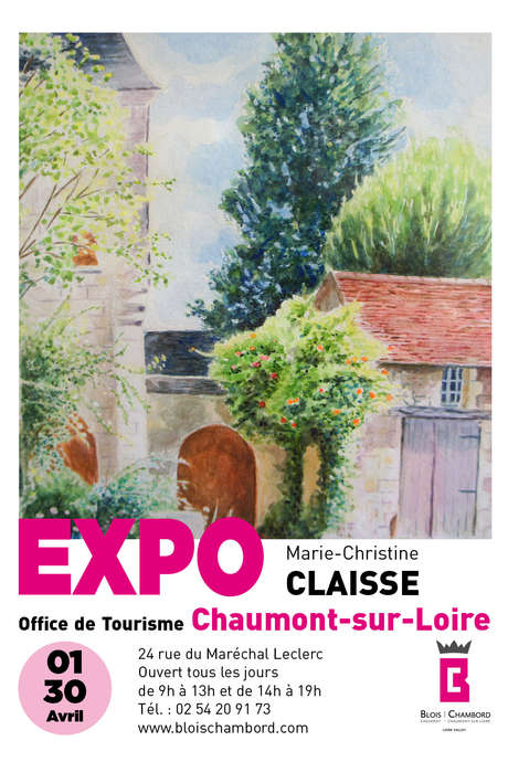 Exposition aquarelles Marie-Christine Claisse
