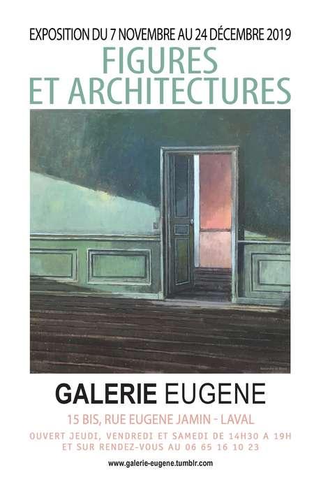"""Exposition """"FIGURES ET ARCHITECTURES"""" à la Galerie Eugène"""
