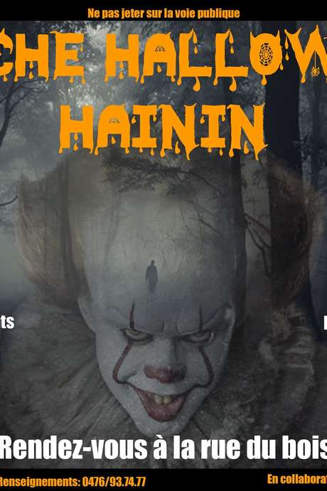 Marches Halloween à Hainin
