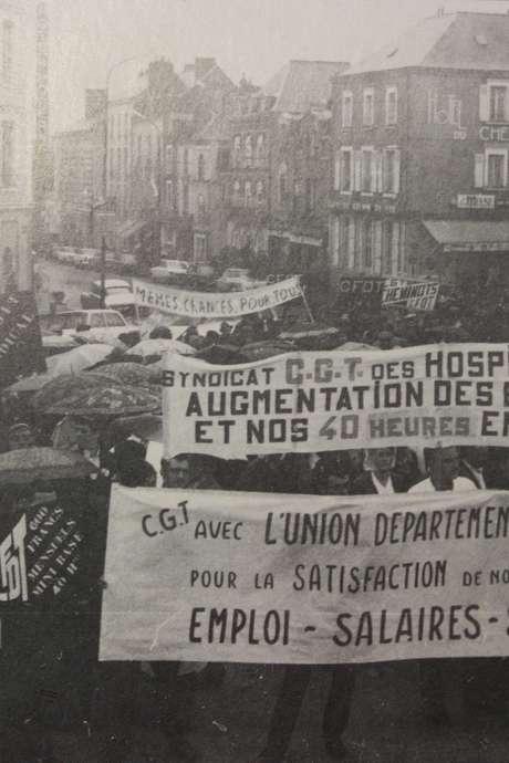 """Visite mémoire """"C'était Mai 68 à Laval"""""""