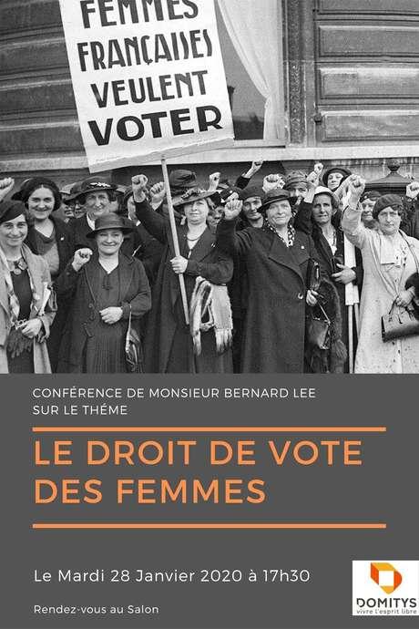Conférence : Le droit de vote des femmes