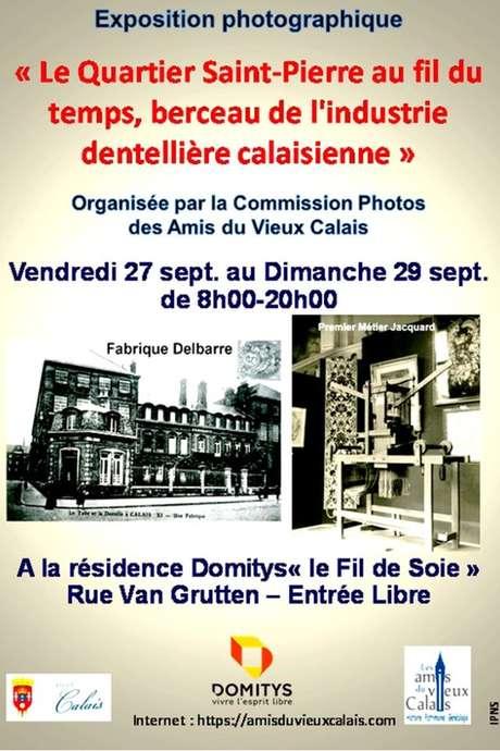 Exposition Le quartier Saint-Pierre au fil du temps, berceau de l'industrie dentellière calaisienne