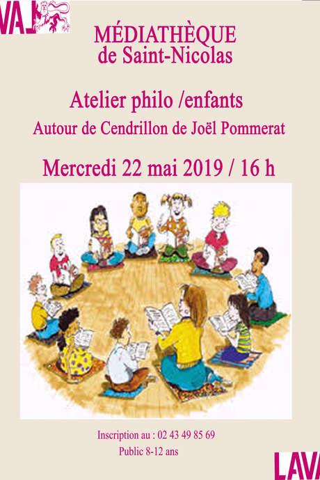 Atelier Philo / Enfants autour de Cendrillon de Joël Pommerat