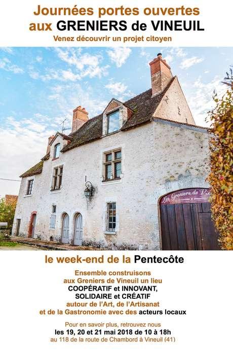 Portes-ouvertes au Grenier de Vineuil