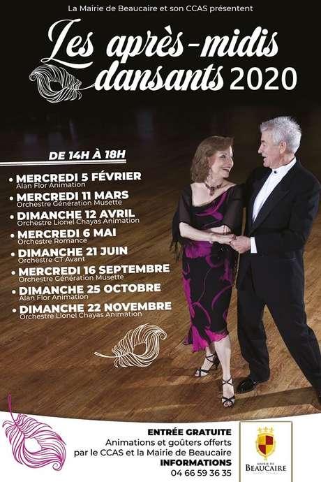 Les après-midis dansants 2020