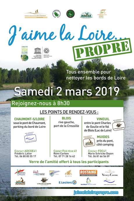 """Opération nationale """"J'aime la Loire… Propre !"""""""