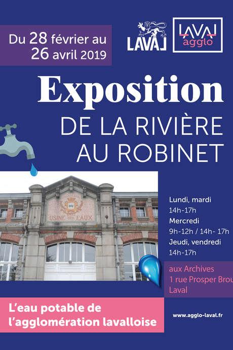 Exposition : De la rivière au robinet