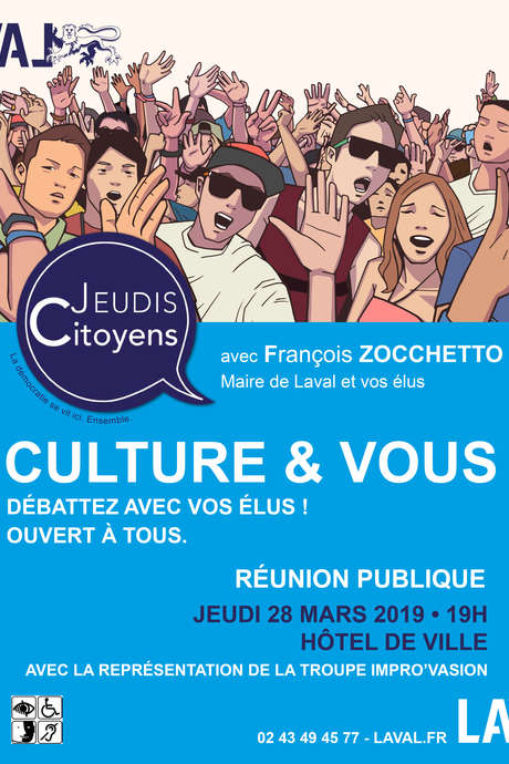 Jeudis Citoyens : Culture & Vous