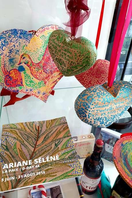 Exposition des Coeurs d'Ariane Séléné