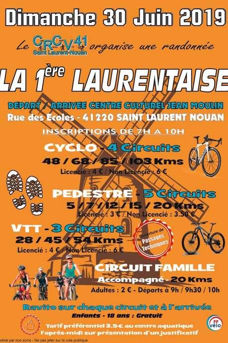 La Laurentaise, marche VTT