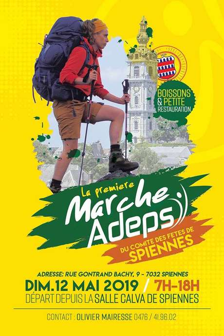 Marche ADEPS à Spiennes (5, 10, 15, 20 kms)