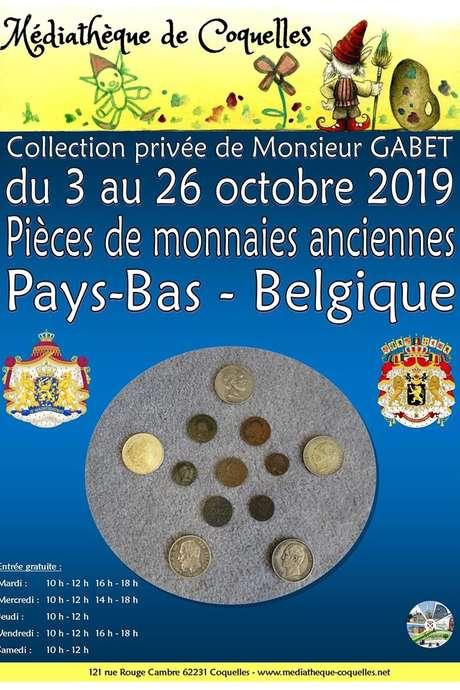 Exposition de pièces de monnaies anciennes