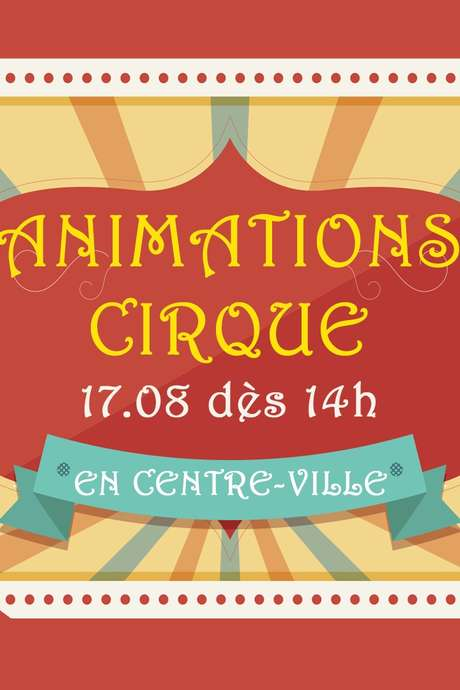 Animations cirque