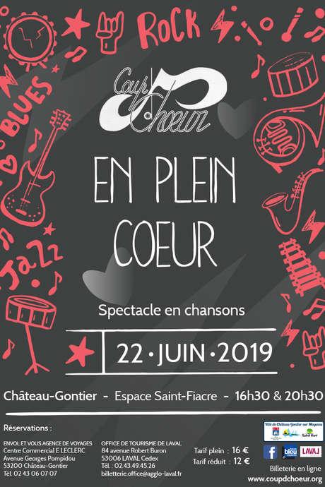 """Concert Coup d'Choeur : """"En Plein Coeur"""""""