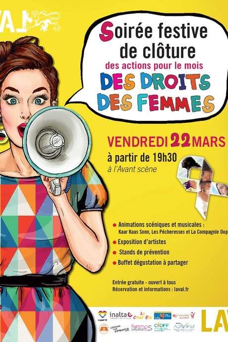Soirée Festive pour le mois des droits des femmes