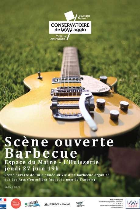 Scène ouverte barbecue - Conservatoire de Laval Agglo