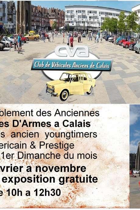 Rassemblement Club de voitures anciennes de Calais