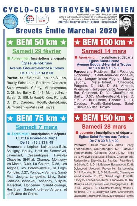 Brevets Émile-Marchal 2020