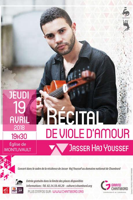 Récital de viole d'amour par Jasser Haj Youssef