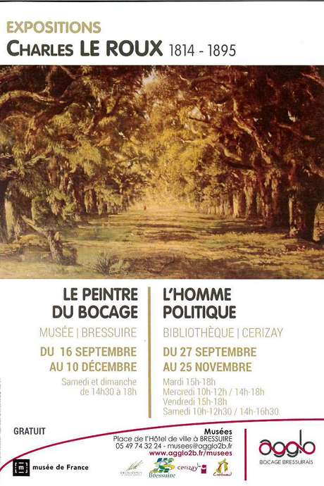 Exposition : Charles LE ROUX