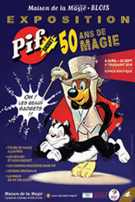 Exposition « Pif Gadget, 50 ans de magie »