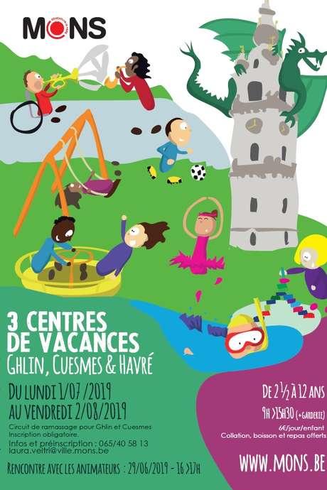 Centres de vacances de la Ville de Mons (Juillet 2019)