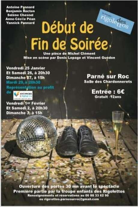 Début de fin de soirée // Cie Les Rigolettos