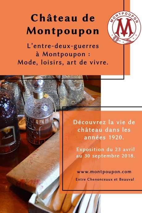 Exposition « l'entre-deux-guerre à Montpoupon : mode, loisirs, art de vivre »
