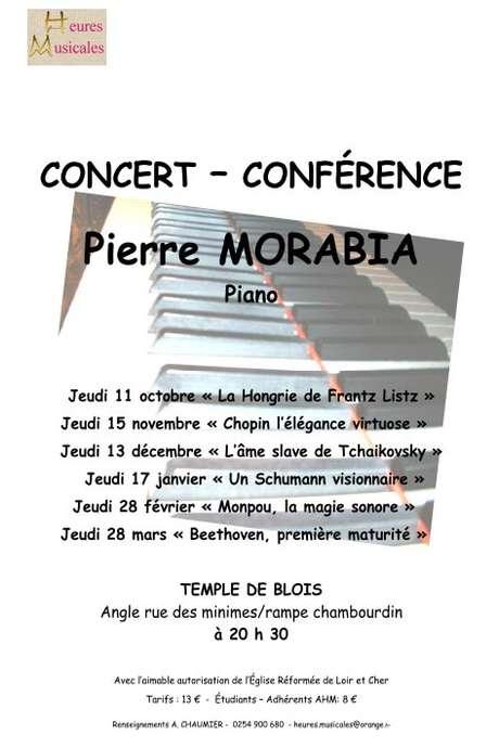 Concert-conférence de Pierre MORABIA