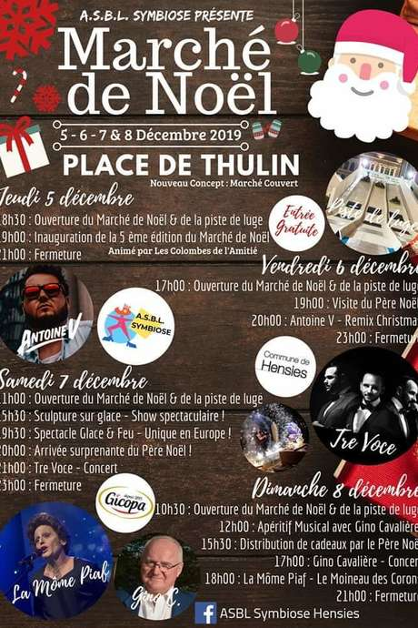 Marché de Noël de Thulin