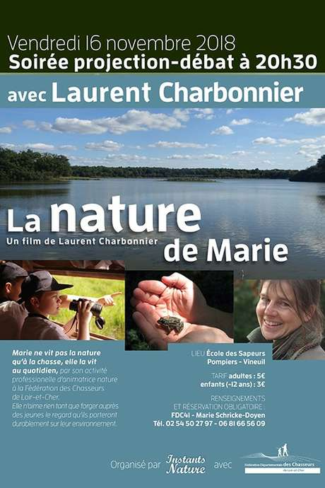 Soirée Laurent Charbonnier : La nature de Marie
